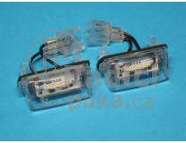 LED Osvětlení SPZ Citroen C5 FaceLift
