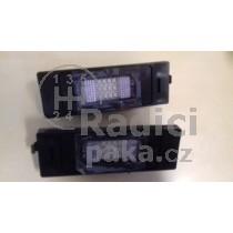 LED Osvětlení SPZ Fiat Multipla
