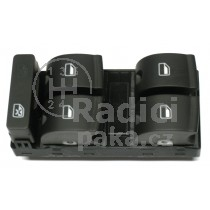 Ovládání vypínač stahování oken Audi A4 B6, 8E0959851B