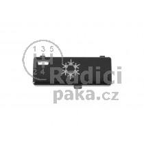 Krytka tlačítka klimatizace BMW E39, řada 5