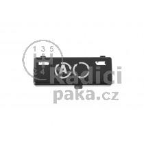 Krytka tlačítka klimatizace BMW X5 99 - 07