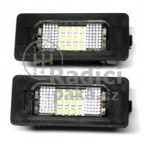 LED Osvětlení SPZ BMW X3