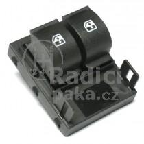 Ovládání vypínač stahování oken Fiat Doblo II, 735461275