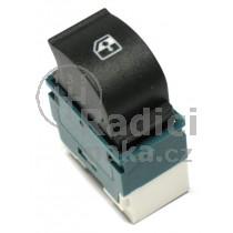 Ovládání vypínač stahování oken Fiat Doblo, zeleno bílý, 735417033