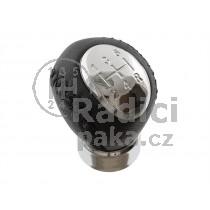 Hlavice řadící páky Mazda 323/323F, 5 stupňová, chrom