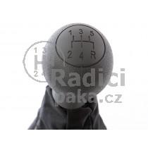 Řadící páka s manžetou Fiat Doblo I, 5 stupňová, černá