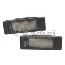 LED Osvětlení SPZ Nissan Note