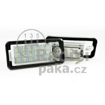 LED Osvětlení SPZ Audi A6 C6 4F