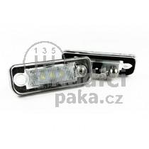 LED Osvětlení SPZ Mercedes W211 Sedan + Combi