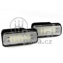 LED  Osvětlení SPZ Mercedes W219 CLS, 04 - 11