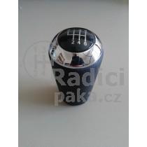 Hlavice řadící páky Mazda 3, 6 stupňová, chrom