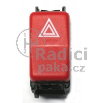 Vypínač výstražných světel Mercedes 124, 1248200110