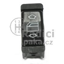 Ovládání vypínač stahování oken Mercedes W126, 1268208110