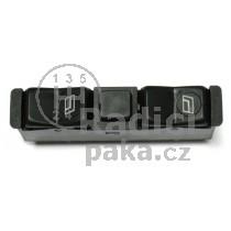 Ovládání vypínač stahování oken Mercedes W124 E classic, 0008208110