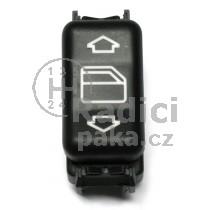Ovládání vypínač stahování oken Mercedes W124 E classic, 1248204510
