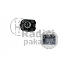 Ovládání vypínač zpětných zrcátek Audi A3, 4F0959565A