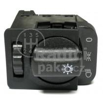 Vypínač světel Opel Combo, 90381877, 90437312, 90437313, 90213283