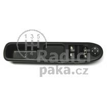 Ovládání vypínač stahování oken Peugeot 207, 6554QC