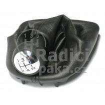 Řadící páka s manžetou Citroen Xsara, 5 stupňová, chrom