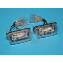 LED Osvětlení SPZ Citroen C6