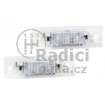 LED Osvětlení SPZ Škoda Superb