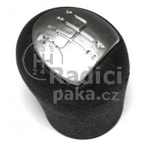 Hlavice řadící páky Dacia Logan, 5 stupňová, chrom
