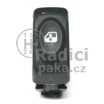 Ovládání vypínač stahování oken Renault Kangoo I, 7700410151, 7700436524, 7700838100