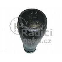 Hlavice řadící páky Citroen Berlingo, 5 stupňová, černá