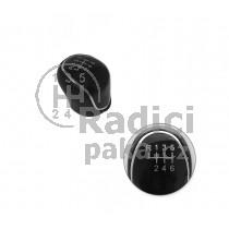 Hlavice řadící páky Ford Mondeo IV MK4, 6 stupňová, černá