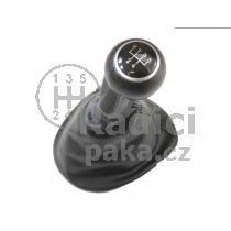 Řadící páka s manžetou pro Seat Toledo III, 5 stupňová, černá