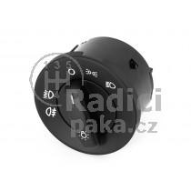 Vypínač světel pro Škoda Octavia II, bez funkce auto, 1Z0941431E