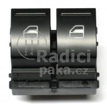 Ovládání vypínač stahování oken Škoda Octavia II, 1Z0959858