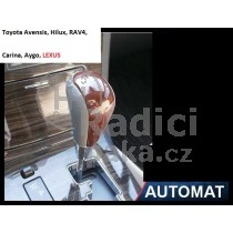 Hlavice řadící páky Toyota Aygo, automat