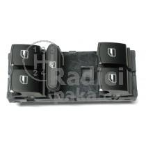 Ovládání vypínač stahování oken VW Passat CC, chrom, 5ND959857