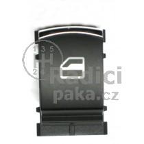 Ovládání vypínač stahování oken VW Passat B5 ,chrom