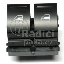 Ovládání vypínač stahování oken VW Eos, 2K0959857A