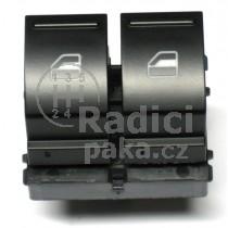 Ovládání vypínač stahování oken VW Golf V Plus, 2K0959857A