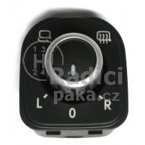 Ovládání vypínač elektrického zrcátka VW Passat B6, 5K0959565