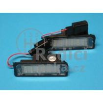 LED Osvětlení SPZ VW Touareg, napichovací verze
