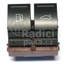Ovládání vypínač otvoru nádrže a kufrových dveří VW Passat  B6