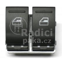Ovládání vypínač stahování oken VW T5, 7E0959855A