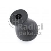 Hlavice řadící páky Mazda Premacy I, 5 stupňová, černá, lesklý chrom