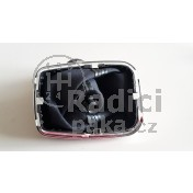 Řadící páka s manžetou VW Bora, 5 stupňová, chromový rámeček