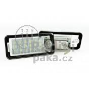 LED Osvětlení SPZ Audi S4 B6