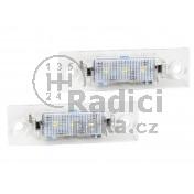 LED Osvětlení SPZ VW Passat B5+ sedan