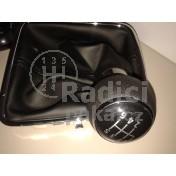 Řadící páka s manžetou VW Tiguan, 6 stupňová, chrom1